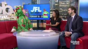 Comedian 'Piff the Magic Dragon' plays tricks on news anchors