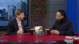 "George Elliott Clarke's new book ""The Motorcyclist"""