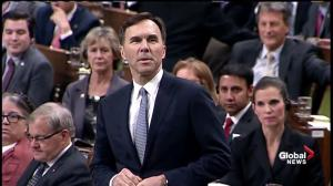 'All of the above': Morneau heckled over which broken election promise he's most proud of