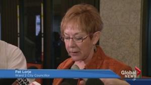 Saskatoon city councillor Pat Lorje reprimanded