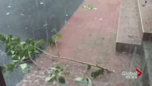 Wicked summer storm hits Kamloops