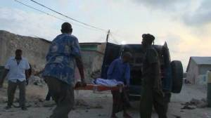 Gunfire, blast as militants attack hotel in Somalia