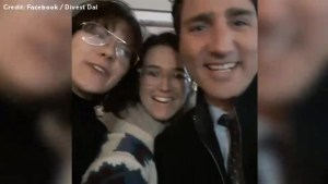 Dalhousie student surprises Trudeau during selfie with question about Aboriginal rights