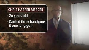 Alleged gunman in Oregon college shooting identified as Chris Harper-Mercer