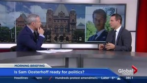 Patrick Brown offers insight on his new M-P-P Sam Oosterhoff