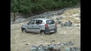 Raw video: heavy rains trigger floods, landslides in India