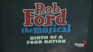 Rob Ford musical premieres to sold-out crowd
