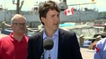 Trudeau pays quick visit to P.E.I. and New Brunswick