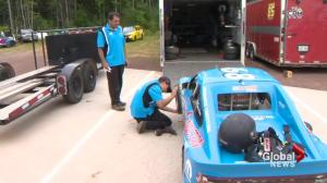 16-year-old racing before he even has a driver's license