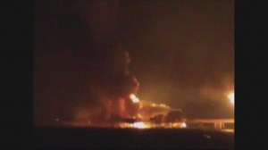 RAW: Mexican oil rig fire kills 4 workers, injures 16