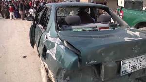 Suicide bomber targeted British embassy vehicle in Afghanistan