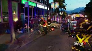 Granville Street crash delays morning traffic