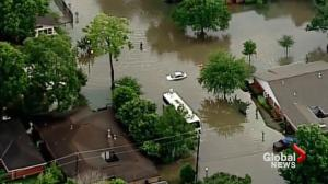 More flood fears in Texas and Oklahoma
