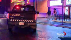 Three stabbed at Calgary bar