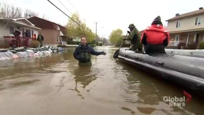 Quebec floods: High water levels to peak by Wednesday ...
