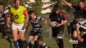 Calgary teen with rare genetic disorder has unforgettable moment on rugby pitch