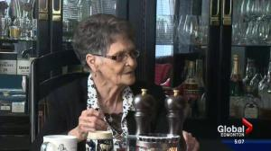 Alberta woman celebrates birthday with five generations of family members