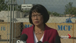 Olivia Chow critical of John Tory's SmartTrack plan