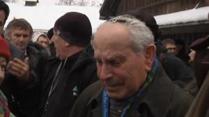 Auschwitz survivors visit camp on eve of 70th anniversary of camp's liberation