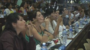 Hundreds gather to compete at the Havana Cigar Festival