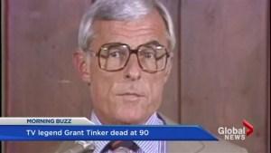 Legendary TV producer  Grant Tinker dies