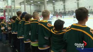 Trio of exhibition post-secondary hockey games held in Athabasca