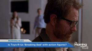 Bryan Cranston weighs in on mom's petition to remove Breaking Bad toys