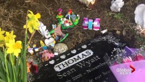 Heartbroken family wonders what happened to gravesite tribute