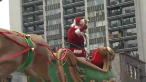 Montreal kicks-off holiday season with annual Santa Claus parade