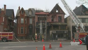 Landmark Toronto restaurants go up in flames