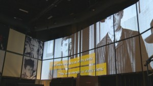 CMHR exhibit: Canadian Journeys