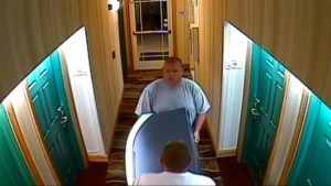 Caught on camera: Florida men walk out of hotel lobby with stolen ATM