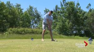 NHL's Jake Allen prepares for celebrity golf tournament