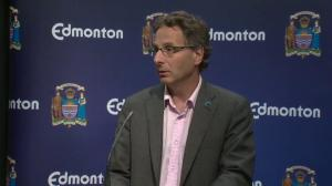 City of Edmonton continues to monitor water levels on North Saskatchewan River