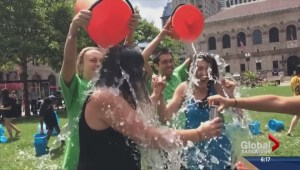ALS ice bucket challenge hits Global Saskatoon