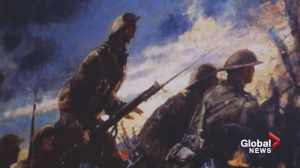 Heroes of history: Alberta teens salute military milestone