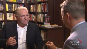 Global News' Alan Carter challenges Doug Ford on the Toronto Star's record