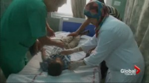The Harper government refuses requests for humanitarian visas for injured children.