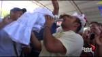 Mayor of Mexican fishing town weds crocodile