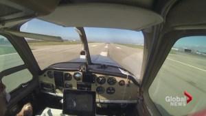 Pilot completes trans-Canada flight