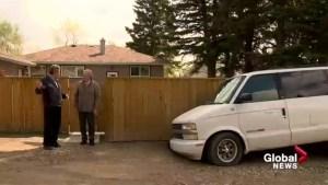 Sinkhole swallows Calgary family's minivan