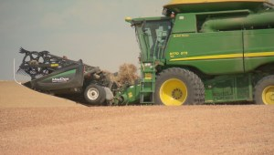Harvest starts in Saskatchewan despite dry weather