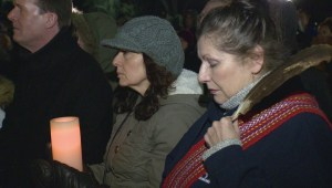 Close to 200 people attend La Loche vigil in Regina