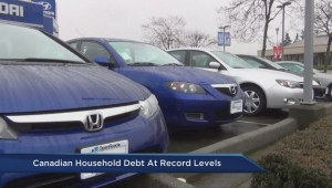 Canadian household debt hits record high