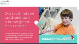 Social media and children's pain