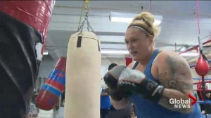 'Rocky-style' comeback for New Brunswick mother