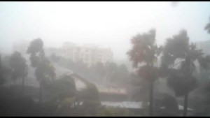 Cyclone HudHud hits Indian coast