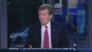 John Tory learned from past election mistakes, talks civilized campaigns
