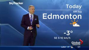Edmonton Early Morning Weather Forecast: Nov. 29, 2016