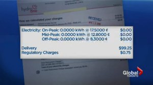 Customer who uses no power gets $113 bill